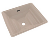 TOTO® Aimes® Rectangular Undermount Bathroom Sink with CeFiONtect™, Bone - LT626G#03
