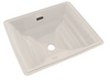 TOTO® Aimes® Rectangular Undermount Bathroom Sink with CeFiONtect™, Colonial White - LT626G#11