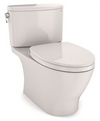 TOTO® Nexus® Two-Piece Elongated 1.28 GPF Universal Height Toilet with CEFIONTECT® and SS124 SoftClose Seat, WASHLET®+ Ready, Colonial White - MS442124CEFG#11