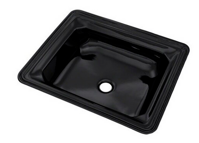 TOTO® Guinevere® Rectangular Undermount Bathroom Sink, Ebony - LT973#51