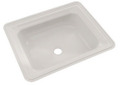 OTO® Guinevere® Rectangular Undermount Bathroom Sink with CeFiONtect™, Colonial White - LT973G#11
