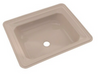 TOTO® Guinevere® Rectangular Undermount Bathroom Sink with CeFiONtect™, Bone  - LT973G#03