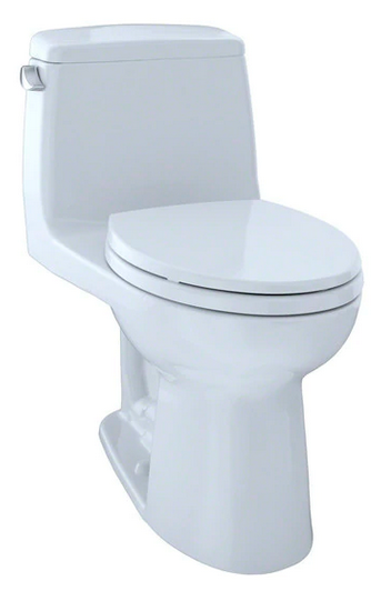 TOTO® UltraMax® One-Piece Elongated 1.6 GPF Toilet, Cotton White - MS854114S#01
