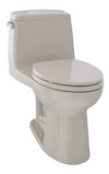 TOTO® UltraMax® One-Piece Elongated 1.6 GPF Toilet, Bone - MS854114S#03