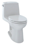 TOTO® UltraMax® One-Piece Elongated 1.6 GPF Toilet, Colonial White - MS854114S#11