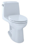 TOTO® UltraMax® One-Piece Elongated 1.6 GPF ADA Compliant Toilet, Cotton White - MS854114SL#01