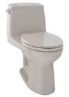 TOTO® UltraMax® One-Piece Elongated 1.6 GPF ADA Compliant Toilet, Bone - MS854114SL#03