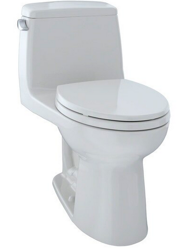 TOTO® UltraMax® One-Piece Elongated 1.6 GPF ADA Compliant Toilet, Colonial White - MS854114SL#11
