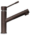 Latascana Tizmix single handle pull-out faucet in Brown