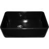 BRANDEE, Fireclay Duet, Reversible Sink w/ Smooth Front Apron