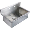CALLIE Stainless Steel Commercial Drop-in/ Wall Mount Utility Sink