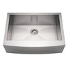 BIDDY  Noah's Stainless Steel Commercial Sink w/ Arched Apron