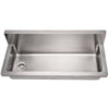 BLAIR Noah's Stainless Steel Commercial Wall Mount Utility Sink