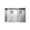 BETHEL Noah Stainless Steel Commercial Dual Bowl Under-mount Sink