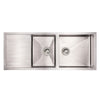 CAMRYN Steel Utility Dual Bowl Reversible Under-mount Sink