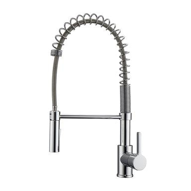 Barclay Nikita Spring Kitchen Faucet with Single Handle 2