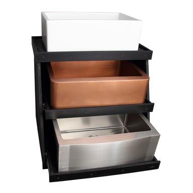 Barclay 3-Tiered Display Stand for Kitchen Sinks