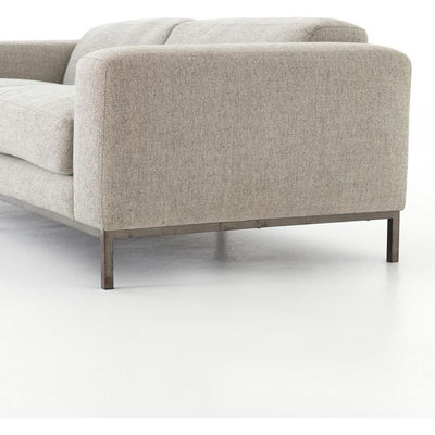 "Tobey 84"" Sofa, Gabardine Gray"