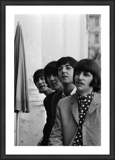 The Beatles at the Negresco hotel on June 30, 1965 in Nice, France