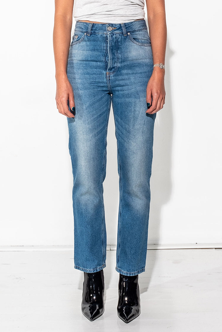Womens JUAN Vintage fit Jeans - Blue