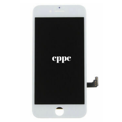 Replacement LCD with Touch Screen for iPhone 8 AAA Quality (ESR + Full View) - White