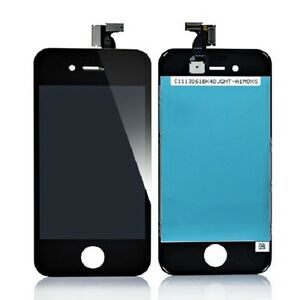 iPhone 4 LCD with Digitizer Black - Cell Phone Parts Canada