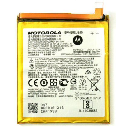 Battery Moto G7 Play JE40 - Best Cell Phone Parts Distributor in Canada
