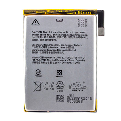 Google Pixel 3 Battery - Cell Phone Parts Canada