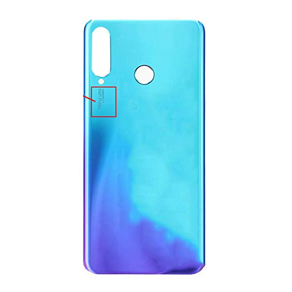 Huawei P30 Lite Back Cover Peacock Blue
