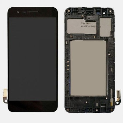 LCD_DigitizerforLGK9_K8_LMX210WM_BlackwithFrame-BestCellPhonePartsDistributorinCanada
