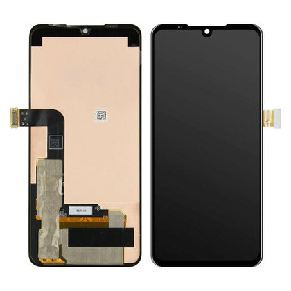 Replacement OLED Screen for LG 8X ThinQ with Frame Black (LMG850U) - Best Cell Phone Parts Distributor in Canada