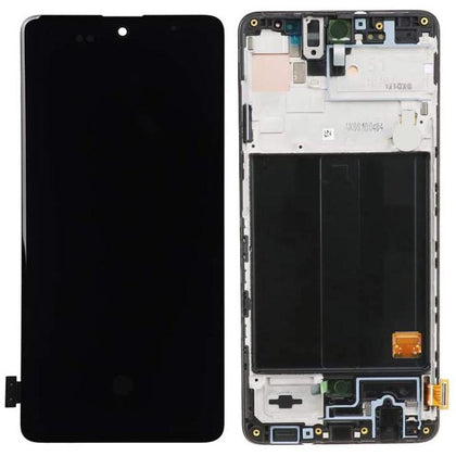 Replacement LCD & Digitizer Samsung A51 with Frame - Best Cell Phone Parts Distributor in Canada | Samsung galaxy phone screens | Cell Phone Repair