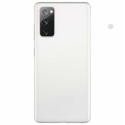 Samsung S20 Fe Compatible Back Cover with Camera Lens - White