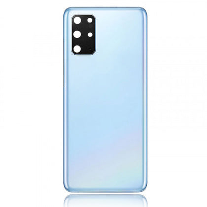 Replacement Back Cover Glass with Lens for Samsung S20 Plus / S20 Plus 5G Cosmic Blue