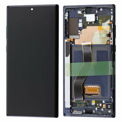 Samsung Note 10 Plus LCD & Digitizer with Frame Aura Black OEM - Best Cell Phone Parts Distributor in Canada