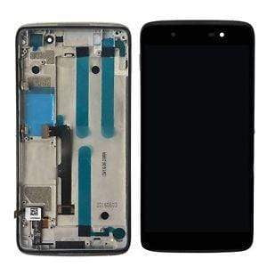 Alcatel Idol 4 LCD & Digitizer wuth Frame Black