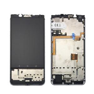 Blackberry Keyone LCD Assembly Black with Frame