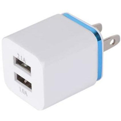 Charger Wall Dual USB 2.1A - Cell Phone Parts Canada