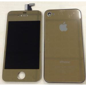 Replacement Color Kit Gold Compatible With 4S - Plated