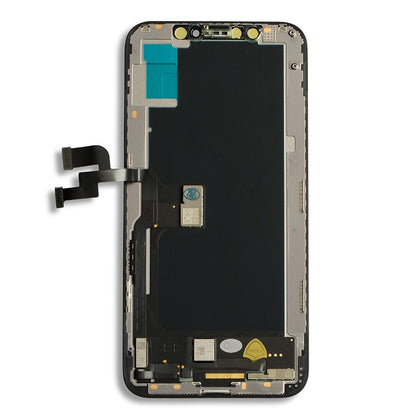 iPhone XS LCD & Digitizer (Hard OLED) Black - Cell Phone Parts Canada