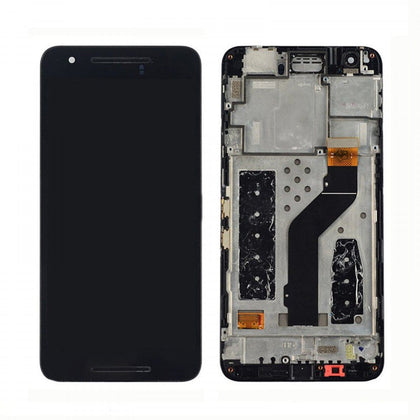 Google Nexus 6P LCD with Touch Assembly Black - Cell Phone Parts Canada