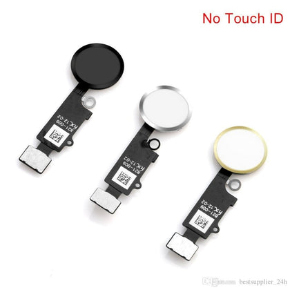 HX Universal Home Button Flex Ver 3 for iP7, iP7+, iP8, iP8+ Black - Cell Phone Parts Canada
