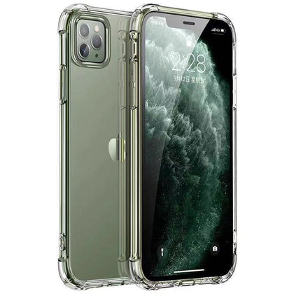 Case for iPhone 11 Pro Max Transparent Crystal Clear Flexible Cover - Best Cell Phone Parts Distributor in Canada