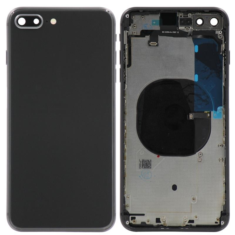 Replacement  Housing with small parts Compatible for iPhone 8 Plus - Black