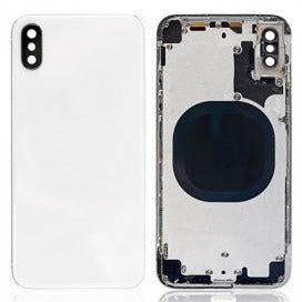 Replacement Housing Compatible With iPhone X with small Parts White