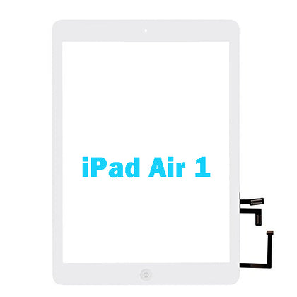 Replacemenr Digitizer White for iPad Air with Home button Flex