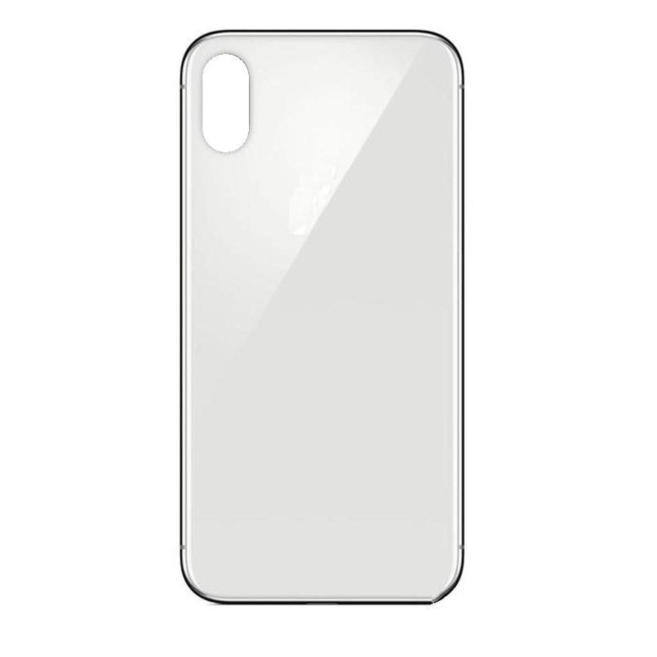 Replacement Back Cover Glass iPhone  X White