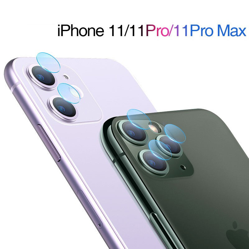 Rear Camera Tempered Glass Compatible With iPhone 11