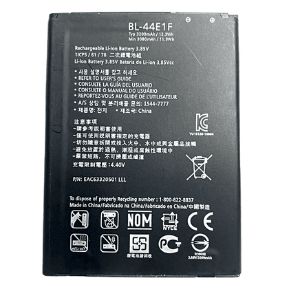 Replacement Battery for LG Stylo 3, Stylo 3 Plus, LG V20 (BL-44E1F)