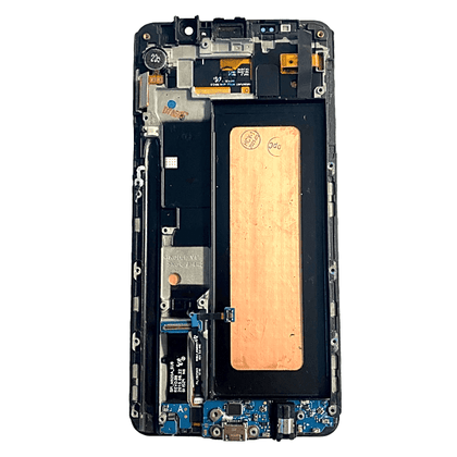 Replacement  LCD Assembly for Samsung Note 5 White with Frame